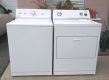 WASHER AND GAS DRYER LIKE NEW in Oceanside, California
