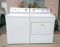 KENMORE600 SERIES WASHER AND GAS DRYER SET LIKE NEW in Oceanside, California