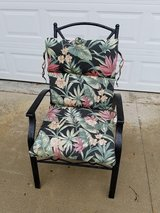 Black / Iron / Floral Patio Chair in Clarksville, Tennessee