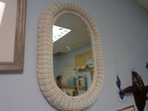 wicker mirror in Wilmington, North Carolina