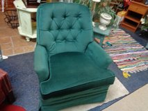 rocker swivels too emerald green like new in Wilmington, North Carolina