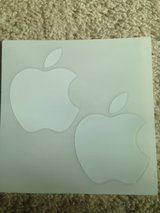 APPLE white logo stickers in Naperville, Illinois