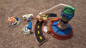 Fisher Price Geotrax Helicopter/Plane set in Fort Rucker, Alabama