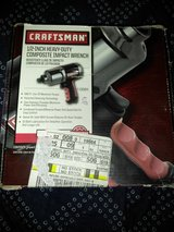Craftsman 1/2in. Heavy-duty composite Impact Wrench in Moody AFB, Georgia