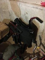 """Medline 20"""" wheelchair with footrest in Morris, Illinois"""