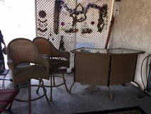 PATIO BAR AND SWIVEL STOOLS in 29 Palms, California