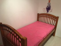 Children's Twin Bed w/ Mattress in Stuttgart, GE