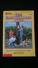 The Baby-Sitters Club #25 Mary Anne and the Search for Tigger in Fort Campbell, Kentucky