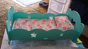 Green BABY DOLL Bed w Music in Vacaville, California