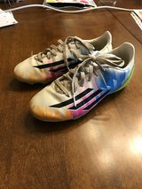 Girls Size 2.5 Adidas Soccer Cleats in St. Charles, Illinois