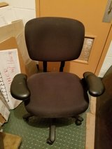 Vintage Haworth black task chair M241-1G42 in Naperville, Illinois