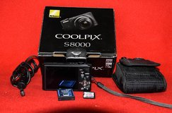 Nikon Coolpix S8000 camera in Oswego, Illinois