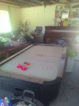 Air hockey table in Yucca Valley, California