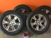 """Original ford 18"""" tires and rims with only 5k miles on it. in Fort Leonard Wood, Missouri"""