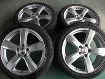 18inch (brand new rims and new tire set) in Okinawa, Japan
