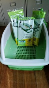 Tidy Cat Breeze litter box system with pads in Naperville, Illinois