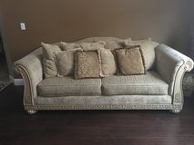 Sofa with pillows in Fairfield, California