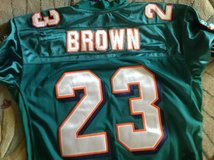 Jersey Miami Dolphins Brown in Okinawa, Japan
