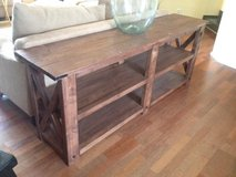 Sofa Table with shelves in Ramstein, Germany