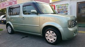$3500 NISSAN CUBE 3 3 ROWS WITH NEW JCI AND 1 YR WARRANTY!! in Okinawa, Japan