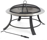 Stainless Steel Fire Pit in Ramstein, Germany