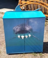 Cabinet with Shark decro in Camp Lejeune, North Carolina