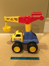 Tonka truck - plastic with movable parts in Lockport, Illinois