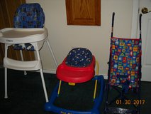 High Chair, Walker, Stroller in Pearland, Texas