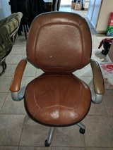 Leather desk chair in Oceanside, California