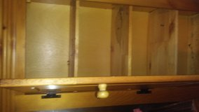 Classic kitchen cabinet,all wood,4 shelves,freestanding,single door in Nellis AFB, Nevada