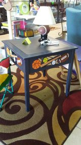 child's sports themed table in Warner Robins, Georgia