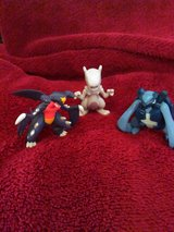Three Pokemon TOMY figures in Phoenix, Arizona