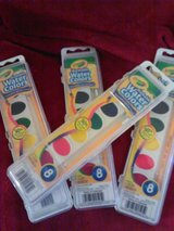 Crayola Kids Watercolors, set of 4 with eight colors and brush in each in Phoenix, Arizona