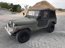 1983 JEEP CJ7   4x4 - Auto Trans in Fort Polk, Louisiana