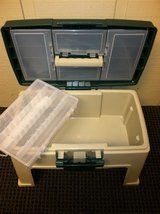 TACKLE BOX/STOOL (NEW) in Glendale Heights, Illinois