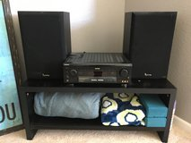 Sony receiver and infinity speakers in Travis AFB, California