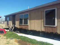 Double wide mobile home in Lawton, Oklahoma