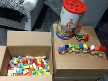 Over 375 pcs Learning Wooden Blocks in Clarksville, Tennessee