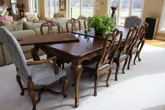 Northern Italian Dining Room Table and Chairs (has matching china cabinet) in Algonquin, Illinois