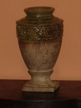 "heavy stone urn 12.5""H in St. Charles, Illinois"