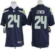 MARSHAWN LYNCH Stitched Nike NFL Adult XXL (white), Medium & Large (Blue) Jersey (NEW) in Tacoma, Washington