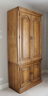 Armoire Dressers (2 available, will sell in eachs) in Bartlett, Illinois