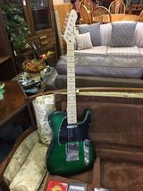 Electric Guitar with hard case in Bartlett, Illinois