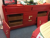 Large Red Dresser in Bartlett, Illinois