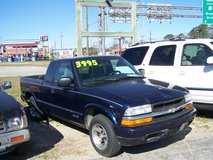 CHEVY S-10 EXTENDED CAB AUTO~REDUCED~ in Camp Lejeune, North Carolina