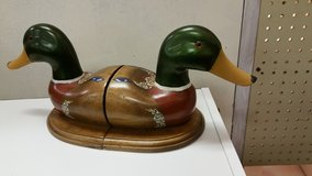 Mallard Duck Book Ends in Macon, Georgia