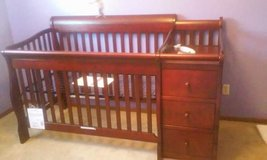 Tuscany 4in 1 crib and changer in Fort Carson, Colorado