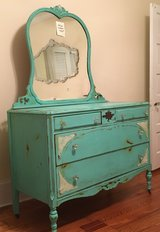 Antique dresser with mirror in Wilmington, North Carolina