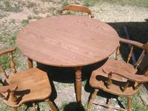 Vintage Wooden Table in Alamogordo, New Mexico