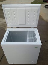 Midea White chest freezer 5 cu ft in Eglin AFB, Florida